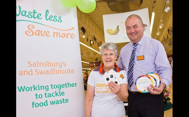 sainsbury's swadlincote waste less save more